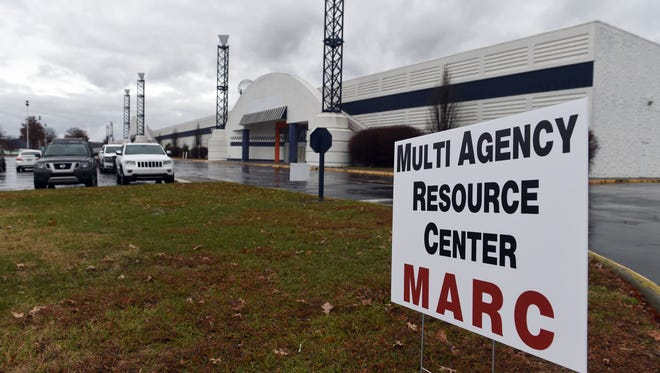 A Multi-Agency Resource Center opens at the former Belz Factory Mall in Pigeon Forge Monday, December 12, 2016.  The center will be open Monday –Saturday, 10 am - 6 pm., providing needed assistance to fire victims who have lost their homes, who were displaced by the fire or businesses who need help.
