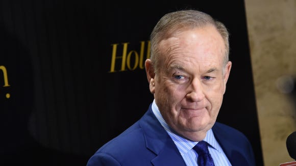 Bill O'Reilly attends the Hollywood Reporter's 2016