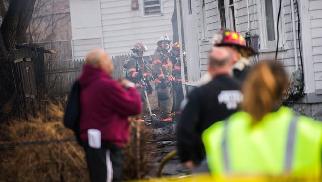 Emergency crews responded to a house fire at 1410 Tracy Street in Endicott on Wednesday afternoon. According to fire officials there were no injuries.