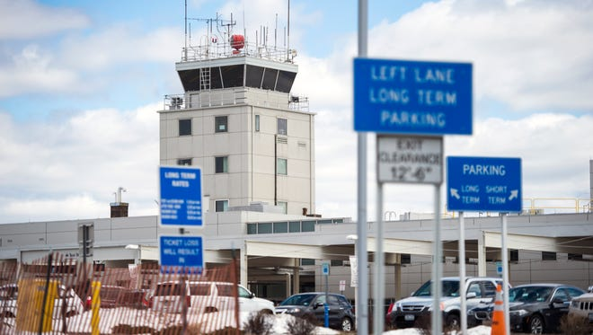 Commercial service has been interrupted in May as Binghamton Regional Airport's main runway undergoes repaving.