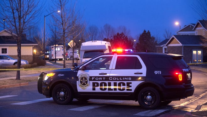 Fort Collins police responded to a report of a shooting on Thursday night in the 2600 block of Flintridge Place.