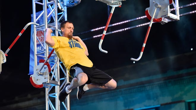 Craig Schafer on 'American Ninja Warrior.'