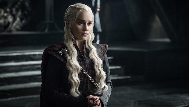 Emilia Clarke in 'Game of Thrones' season 7. (Helen Sloan/HBO)