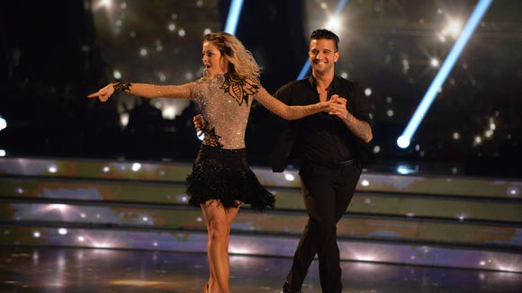 Lindsey Stirling and Mark Ballas topped the night.