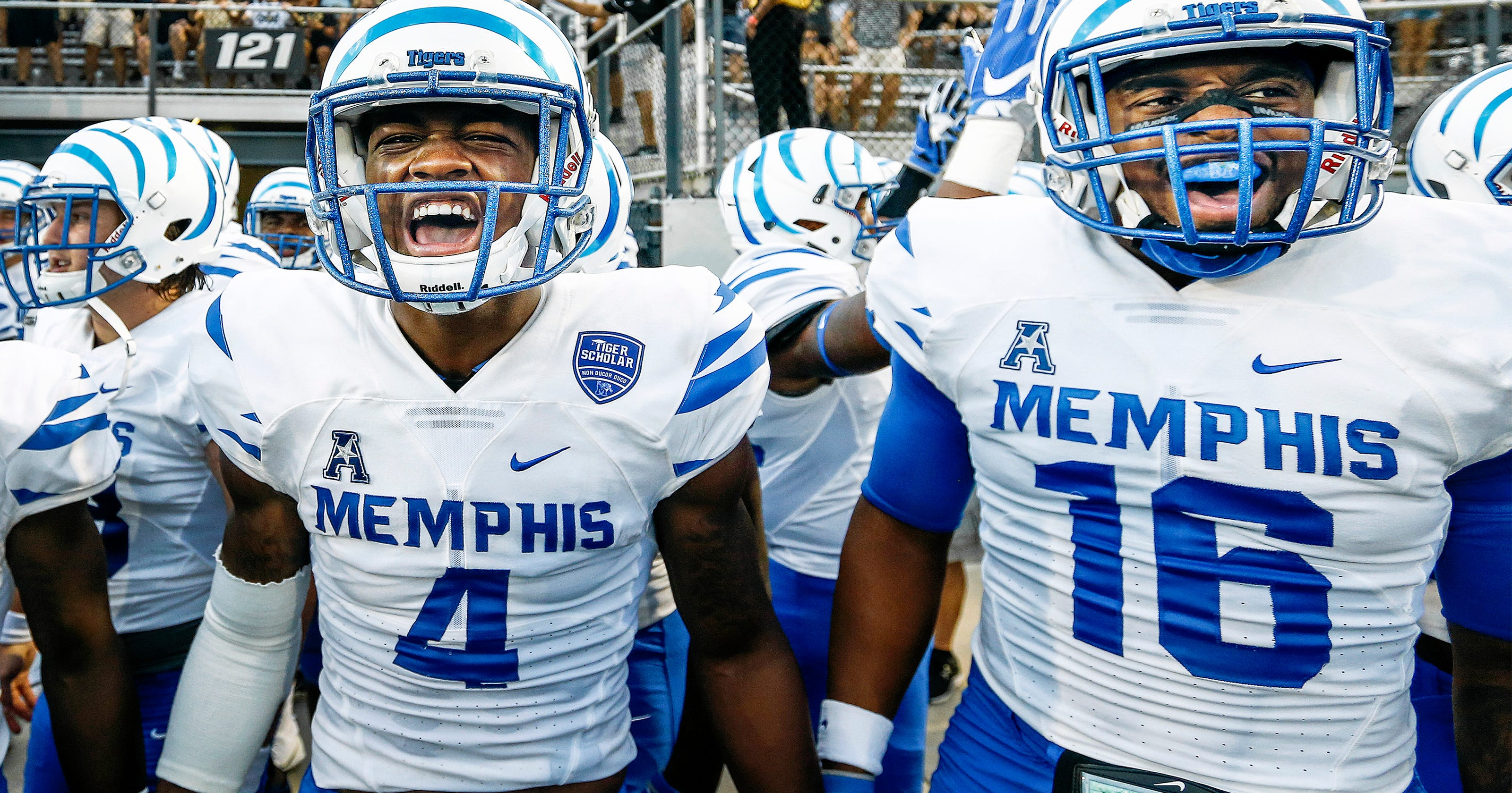 memphis football: tigers the best team on ucf's schedule this year