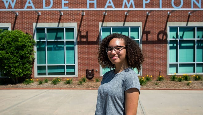 A recent study co-authored by a Clemson professor found that students who engage in social activism tend to have high-status occupations as adults. Asha Marie this year sparked a community discussion on whether Wade Hampton High School should be renamed.