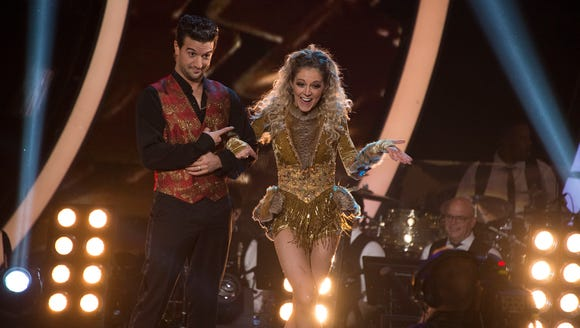 Mark Ballas and Lindsey Stirling