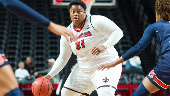 UL's Nekia Jones is expected to be available this weekend in Arkansas after suffering a shoulder injury.