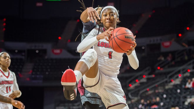 UL's Kimberly Burton has enjoyed an offensive upgrade in her game in recent weeks.