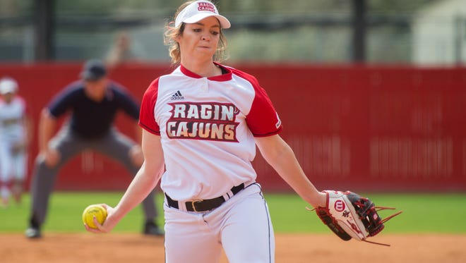 UL's Summer Ellyson was dominant again, hurling a four-hit shutout with no walks and eight strikeouts to improve to 6-3 on the season.