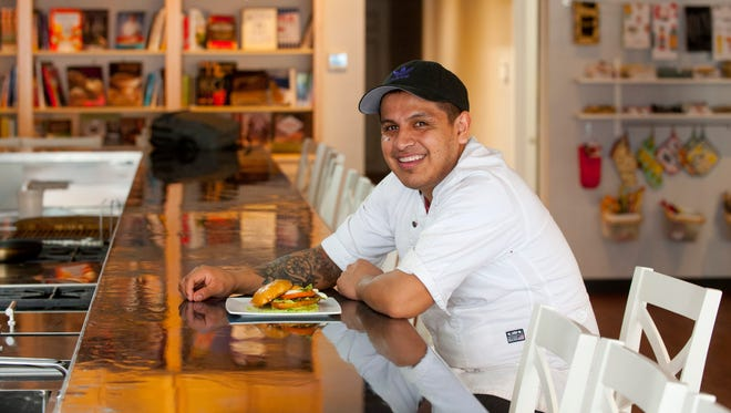 Chef Paco Garcia is the guest chef at MESA - A Collaborative Kitchen in New Albany. He's also the executive chef at Louisville breakfast spot Con Huevos, where he cooks up his fusion of Mexican and Southern cuisine.  Feb. 19, 2018