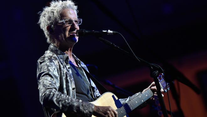 Kevin Cronin of REO Speedwagon performs at the T.J. Martell 40th Anniversary NY Gala at Cipriani Wall Street on Oct. 15, 2015, in New York City.