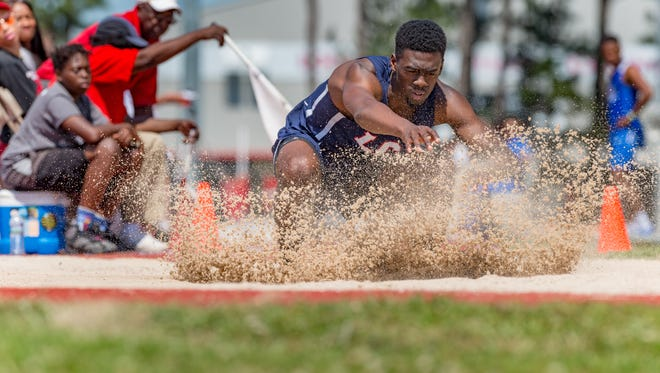LCA's Greg Williams qualified first in the high jump and third in the long jump for Friday's Class 1A State Track Meet.