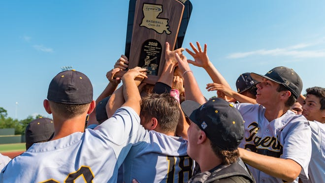 Loreauville takes down Welsh to win the 2018 LHSAA Baseball Championship. Saturday, May 12, 2018.