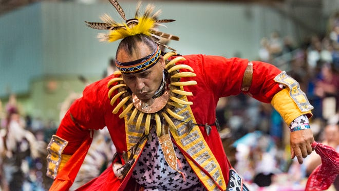The 23rd Annual Coushatta Pow Wow in Kinder, LA. Saturday, June 9, 2018.