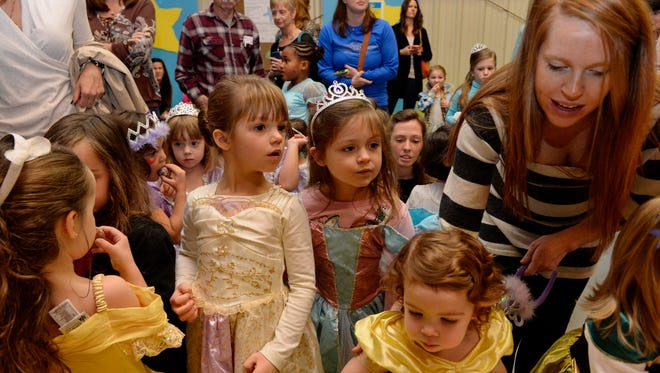 Children of all ages enjoy learning how to be a proper princess. The Princess Academy was held at The South Carolina Children's Theatre Saturday, Nov. 21, 2014.