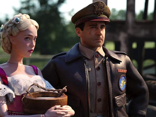 'Welcome to Marwen' review: A hate crime sparks Steve Carell's fantasy world and a seriously misjudged movie