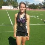 Fort Collins High School athlete Becca Schulte won the Colorado state pentathlon Wednesday in Brighton.