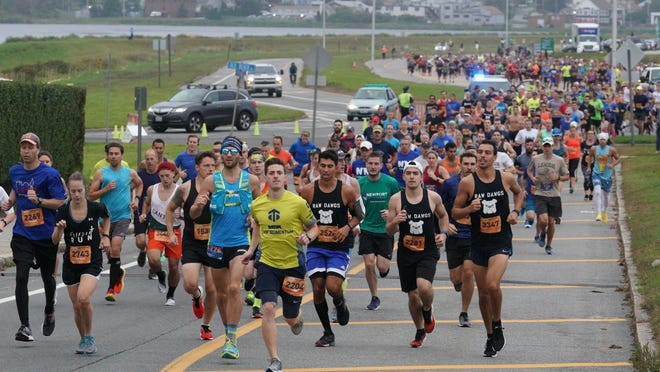 The annual Newport Marathon was one of the many events organized by Gray Matter Marketing to be canceled this year because of coronavirus concerns.