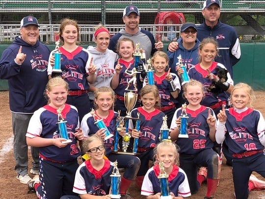 The Battle Creek Elite team won the Michigan USSSA