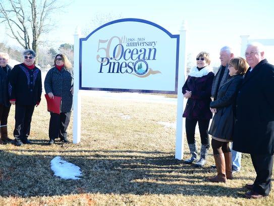 Members of the Ocean Pines 50th Anniversary committee