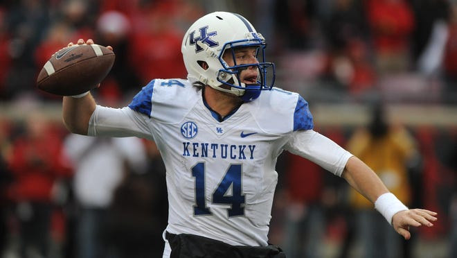 Kentucky's Patrick Towles enters the preseason as the quarterback to beat for the Wildcats.