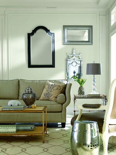 Sherwin-Williams named Alabaster, a warm white hue,