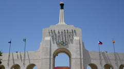 The Los Angeles Coliseum is the first stadium to host