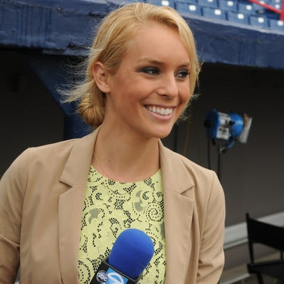File photo 2013: Britt McHenry, weekend sports anchor