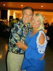Johnny and Linda Edens at Krewe Artemis-Springhill