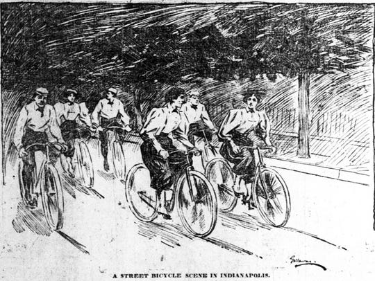 Illustration in the June 15, 1895 Indianapolis News
