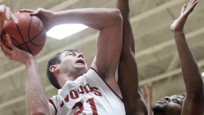 Forward Samir Sehic (21) led Houston's Cypress Woods to a 35-5 record as a junior.