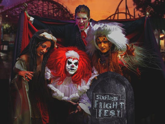 Fright Fest at Six Flags Great Adventure.