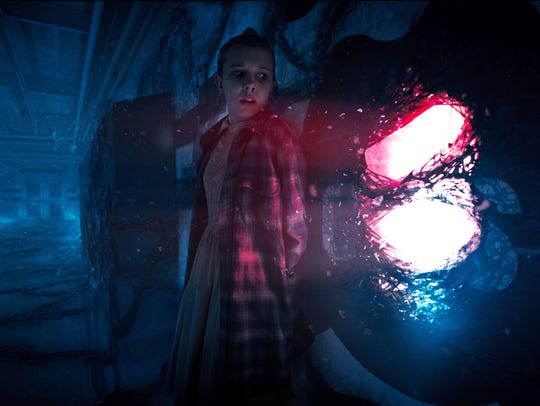 Eleven (Millie Bobby Brown) finds her way out of the Upside Down in the new season of 'Stranger Things.'