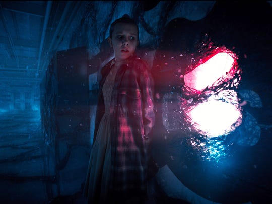 Eleven (Millie Bobby Brown) has to find her way out