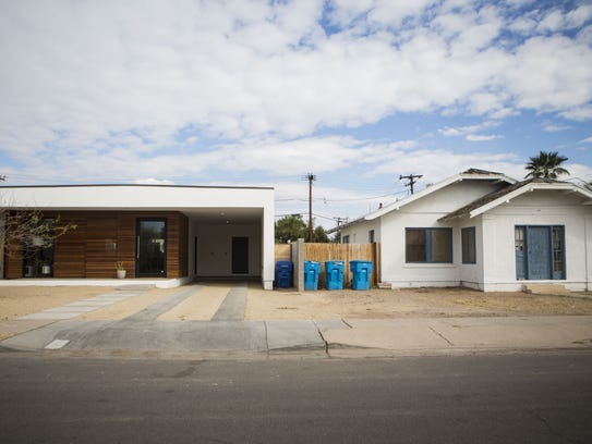 A newly built home is pictured in the Coronado Historic
