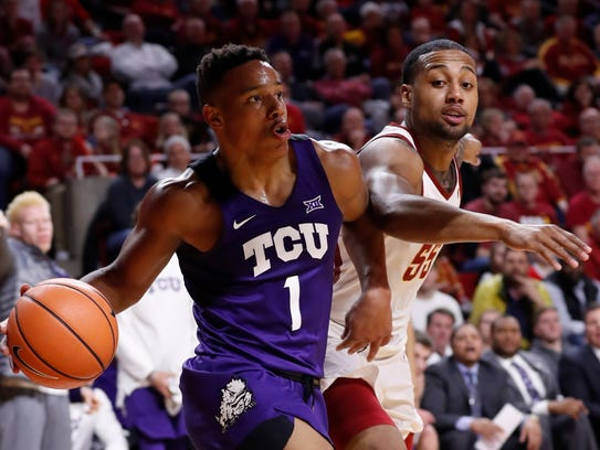 TCU's Desmond Bane averages 12.8 points and is a very