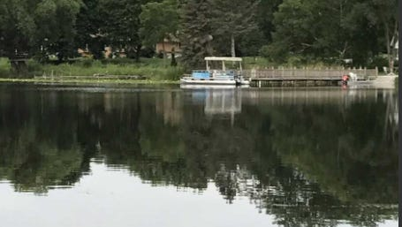Kelly Lake  -- which straddles Hales Corners and New Berlin -- appears calm in this photo, but there is a good deal of controversy over whether access to the lake should be permanently restricted to boats that can be carried in, such as kayaks.