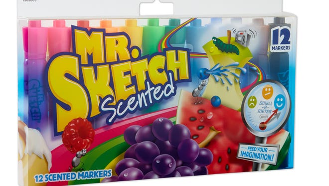 Mr. Sketch markers have launched a new ad campaign.