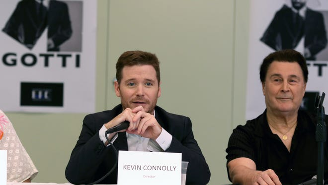 Kevin Connolly, director of The Life and Death of John Gotti talks about filming the movie in Cincinnati. Filming was taking place Monday August 22, 2016. at the Hilton Cincinnati Netherland Plaza.