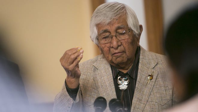 The federal Bureau of Indian Affairs has warned White Mountain Apache Tribal Chairman Ronnie Lupe that it could take over tribal programs because leaders have failed to account for millions of U.S. tax dollars spent on the reservation near Show Low.
