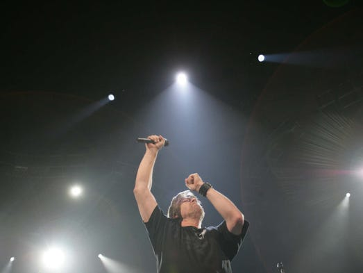 Bob Seger plays the last show of his tour at Cobo in