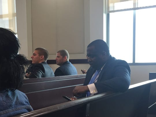 Ex-Metro Councilman Loniel Greene waits in court on Thursday, July 14, 2016.