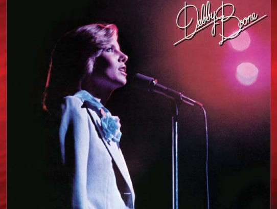 Cover of Debby Boone's re-released album, for the first