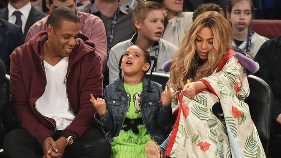 'You guys, TWO babies?' Blue Ivy maybe.