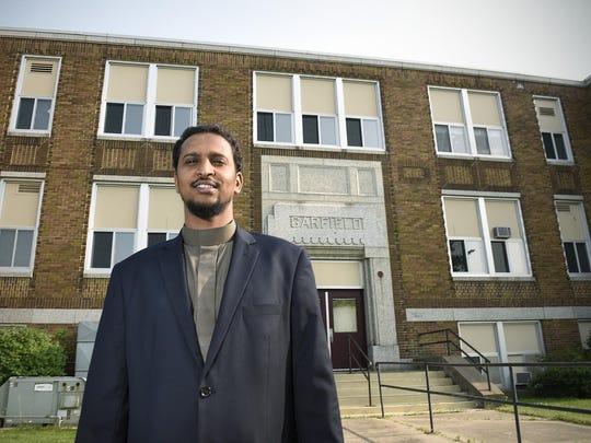 Islamic Center of St. Cloud President Muhayadin Mohamed