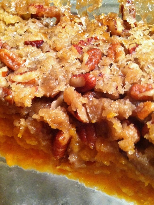 sweet Potato praline