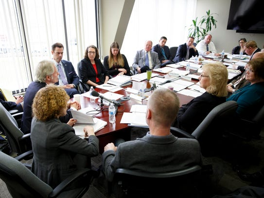 An Oregon Government Ethics Commission meeting to vote