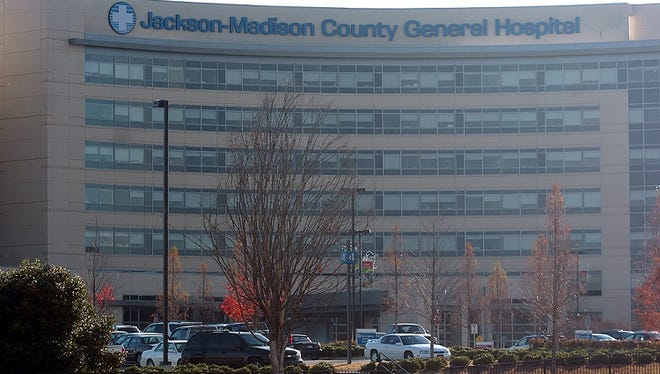 A file photo of Jackson-Madison County General Hospital