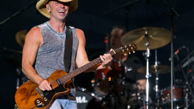 In this April 3, 2016 file photo, Kenny Chesney performs at the 4th Annual ACM Party for a Cause Festival in Las Vegas.